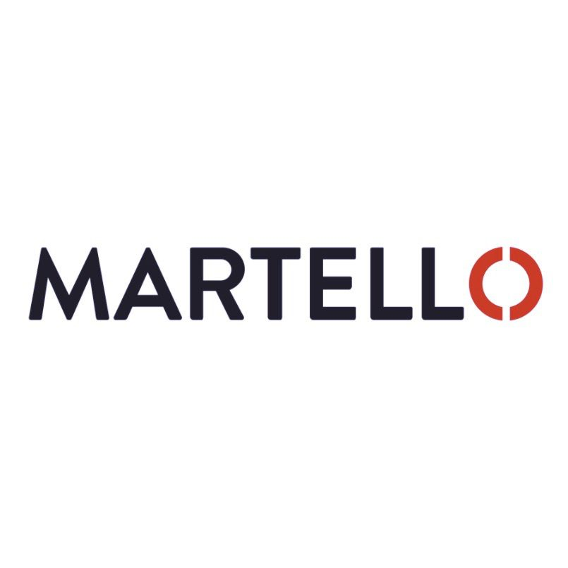 Martello Technologies logo for article detailing Martello acquisition of GSX and related financing.