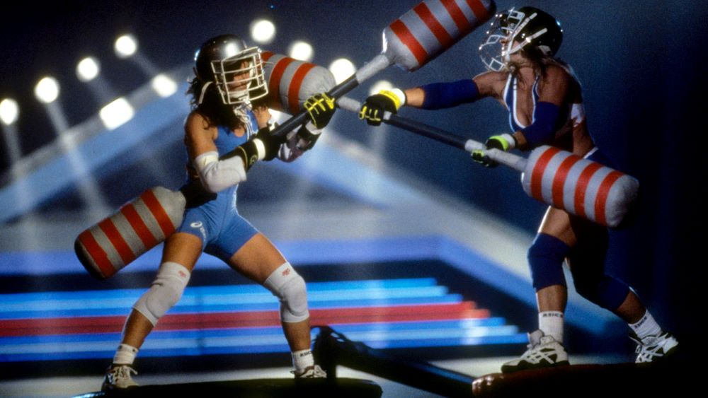Picture of American Gladiators Jousting