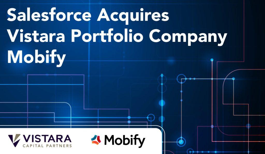 Title image for Salesforce acquisiton of Vistara article